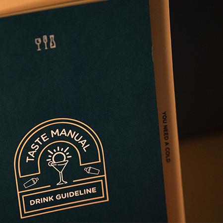 Cocktail Guidelist illustration design